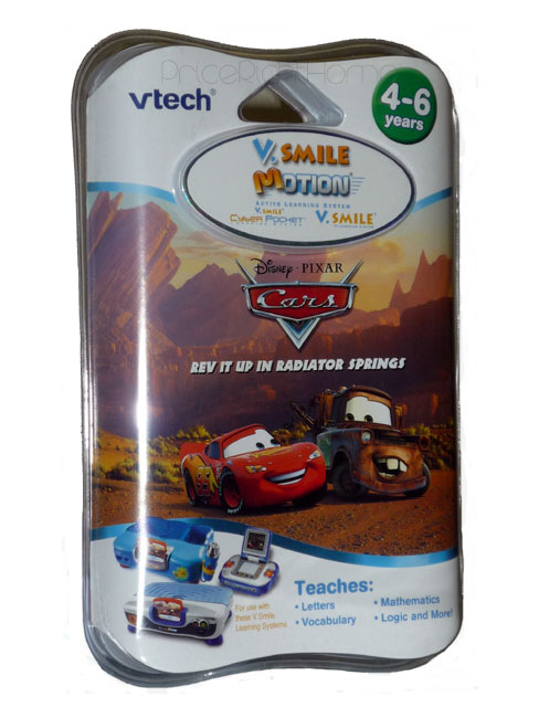 VTech V.Smile Motion Disney Cars Game