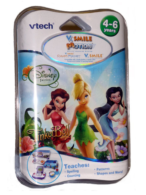 VTech V.Smile Motion Disney Fairies Tinkerbell Game