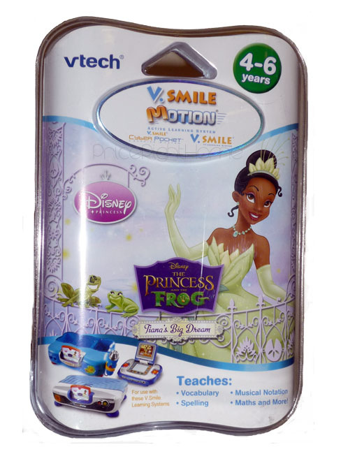 VTech V.Smile Motion Disney Princess and the Frog game