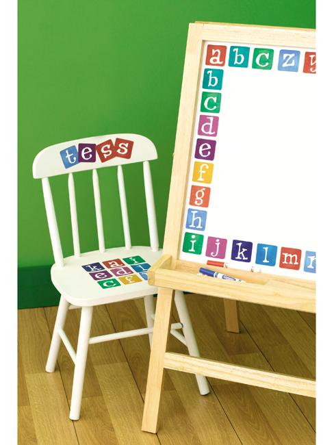 Wallies Wallpaper Cutouts Alphabet Wall Stickers
