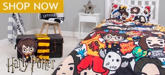 Explore our Harry Potter Bedding and Duvet Covers