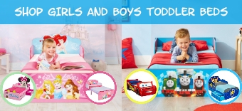 View our range of Toddler Beds for Boys and Girls