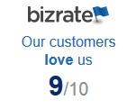 Biz rate customer satiscation 9 out of 10