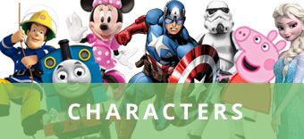 Disney, Marvel and many more characters