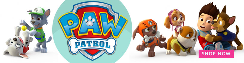 All your kids favourate characters Paw Patrol