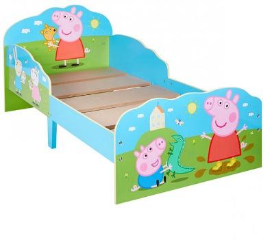 Peppa Pig toddler bed