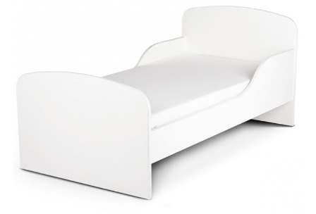 Price right home white toddler bed