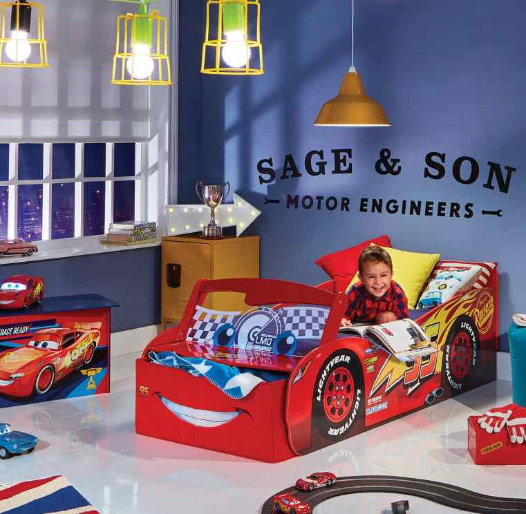 Cars - Lightnning McQueen toddler bed